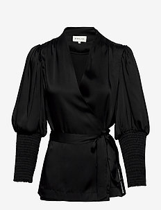 Hope blouse - blouses med lange mouwen - black