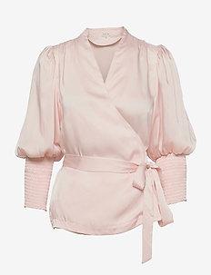 Hope blouse - långärmade blusar - pale pink