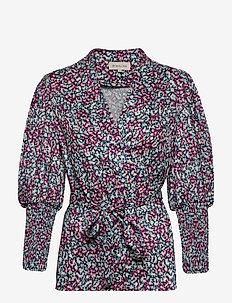 Hope blouse - long sleeved blouses - wild blossom