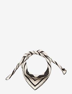 Silk scarf 65x65 - scarves - iconic print cream