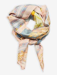 Silk scarf 100x100 - sjaals - romantic breeze