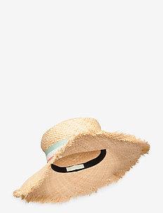 Island straw hat - CREAM