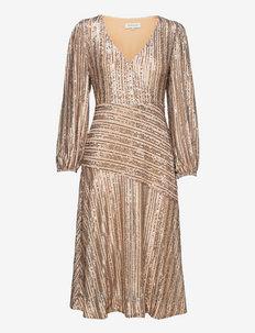 Gali dress - cocktail-kjoler - blush metallic
