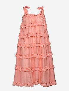 Blanca dress - midi jurken - peach blush