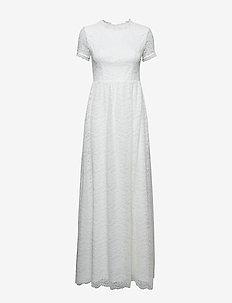 Claire dress - WHITE