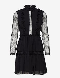 Gina mini dress - BLACK