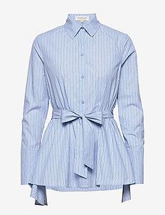 Giulia shirt - BLUE STRIPE