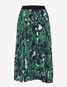 Elena skirt - SHADOW GARDEN GREEN