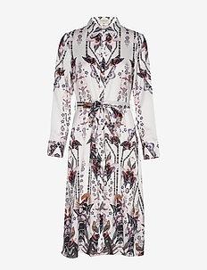 Alessandra shirt dress - ROMANA WHITE