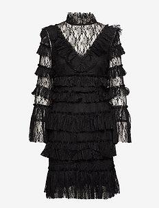 Rosa dress - cocktailkjoler - black