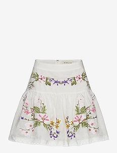 Cora skirt - korte rokken - white
