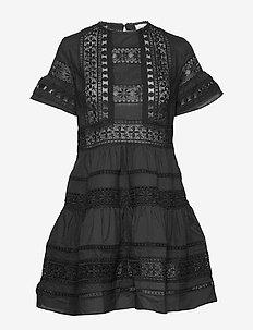 Felice dress - korte kjoler - black