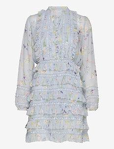 Freja dress - midi dresses - midsummer blue