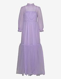 Melany maxi dress - maxi jurken - violet
