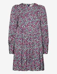 Millie dress - midiklänningar - wild blossom