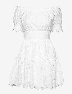 Chante dress - kurze kleider - white