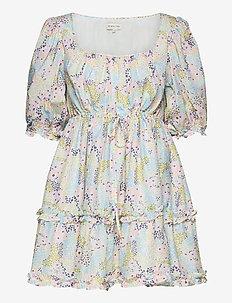Betty dress - korta klänningar - summer blooms