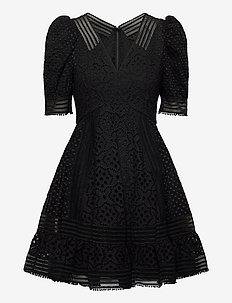 Abby dress - korte kjoler - black