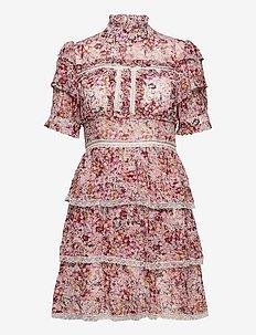 Harlow dress - midi kjoler - sorbet floral