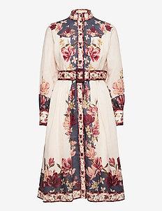 Caily dress - blousejurken - magnolia cream white