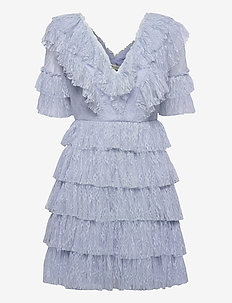 Sky dress - spetsklänningar - sky blue