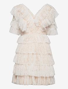 Sky dress - spetsklänningar - white