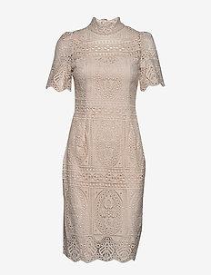 Naima dress - trouwjurken - barely beige