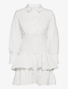 Coralie dress - sommerkjoler - white