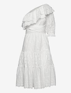 Clementine dress - sommarklänningar - white