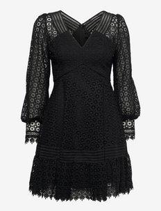 Brooke dress - kokteilikleidid - black