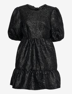 Wilder dress - cocktailklänningar - black metallic