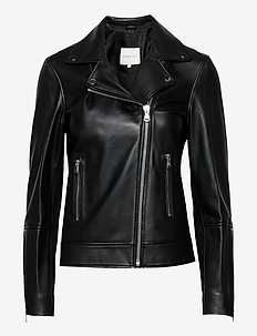 Carmela leather jacket - leather jackets - black