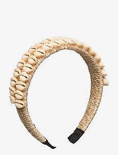 Tia shell headband - nyheter - cream