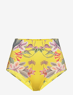 Maya bikini bottom - bikinibroekjes - electric jungle pineapple