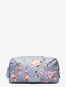 Travel cosmetics large - necessärer - french rose sky blue