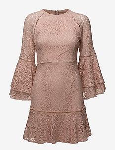 Ettie mini dress - DUSTY PINK