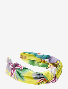 Mila headband - hår accessories - electric jungle pineapple