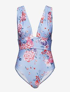 Alvina swimsuit - FLIRTY FLOWER