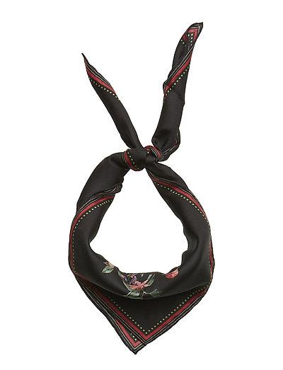 Fly scarf - BLACK BLOSSOM