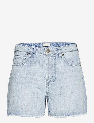 Laura jeans shorts - jeansshorts - light blue wash