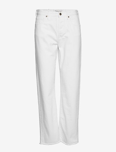 Alexa jeans - straight regular - white