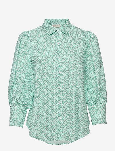 Eliza shirt - långärmade skjortor - coastal flower