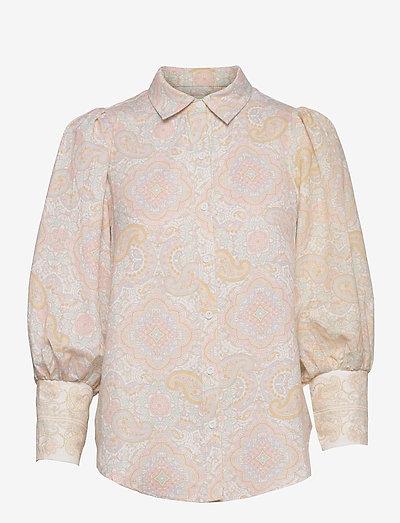 Eliza shirt - långärmade skjortor - pastel paisley