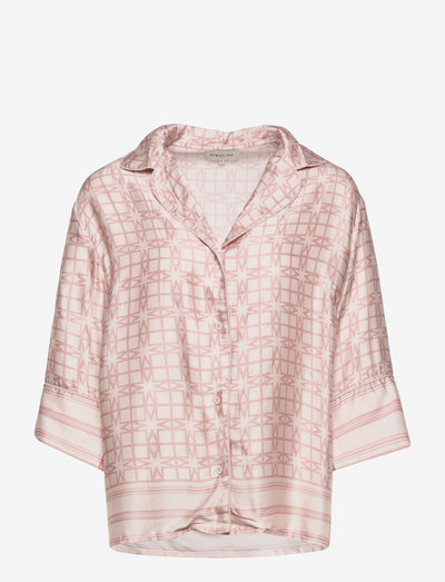 Claudia shirt - Överdelar - iconic print blush