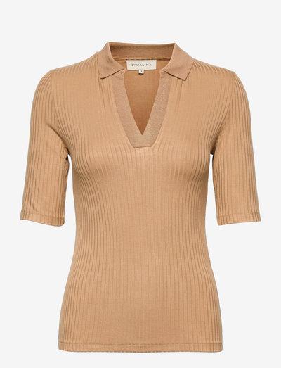 Gaia top - pullover - cognac