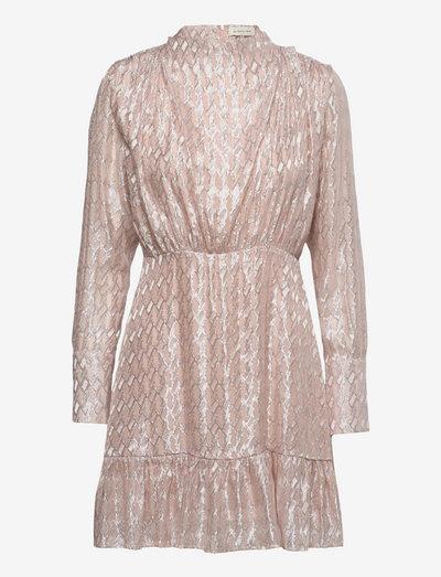 Lively dress - festklänningar - blush metallic