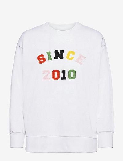 Since 2010 sweatshirt - sweatshirts & hoodies - white