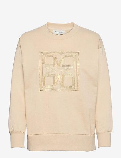 Iconic sweatshirt - sweatshirts & hoodies - soft beige