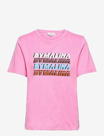By Malina tee - t-shirts - lush pink