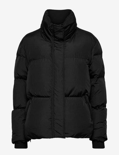 Bella puffer jacket - winterjacken - black